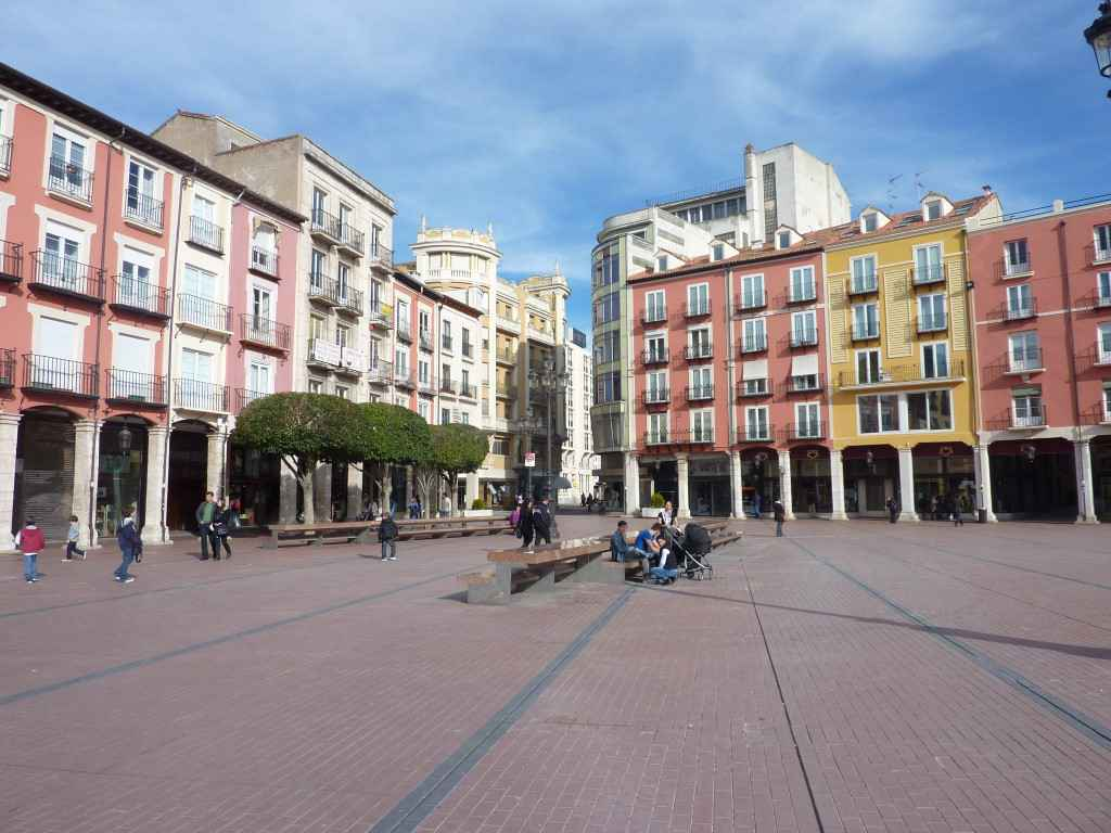 Burgos Plaza Mayor en Images