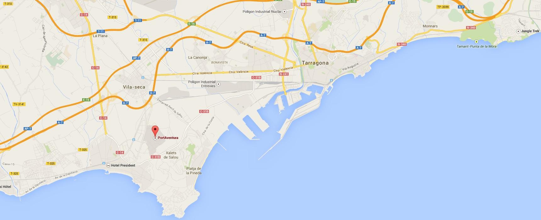 Tout savoir sur Port Aventura, attractions et transports
