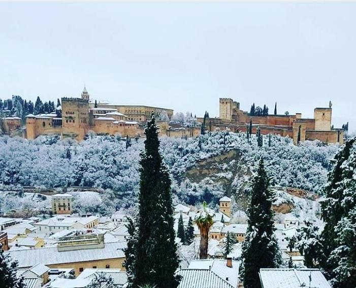 L Espagne Sous La Neige Pour Les Rois 2018