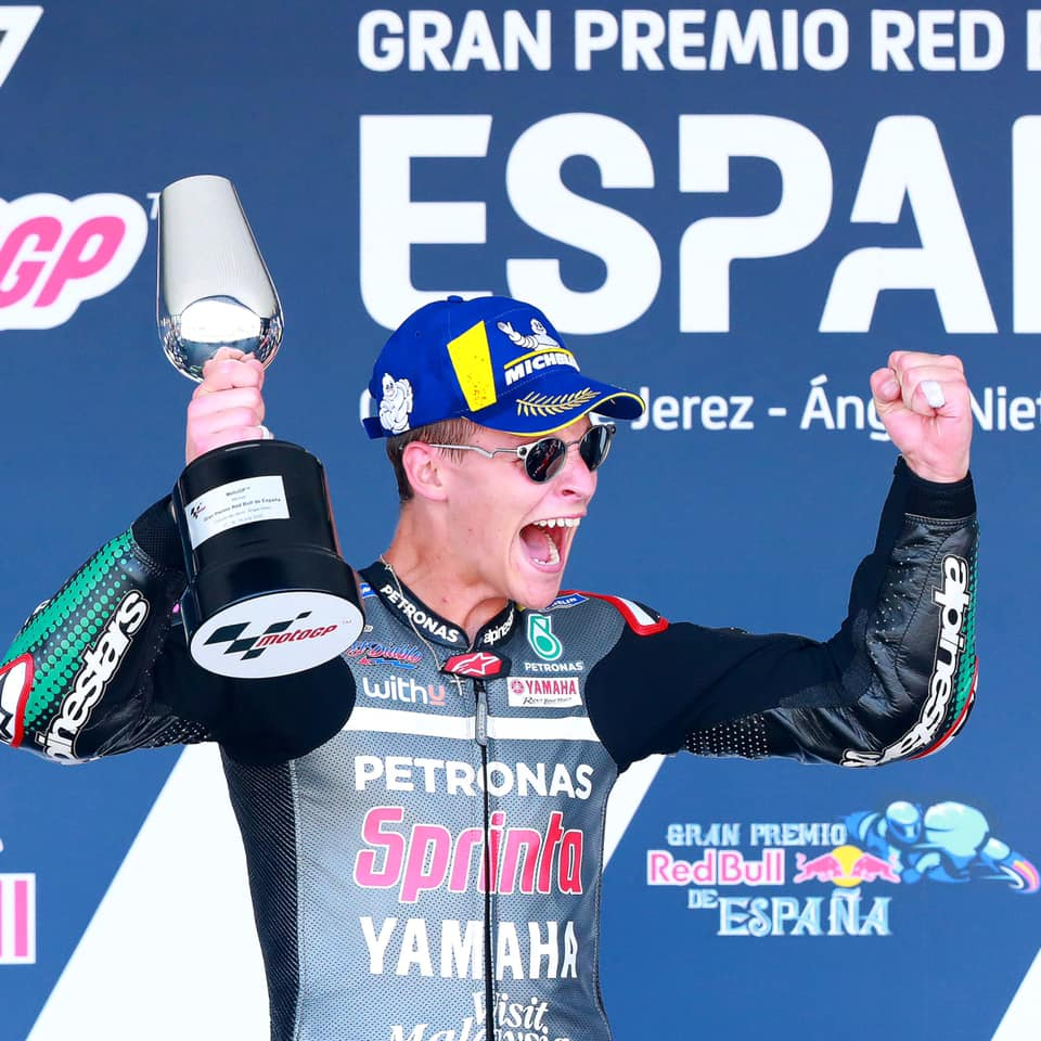 A winner surprise in Jerez moto GP 2020