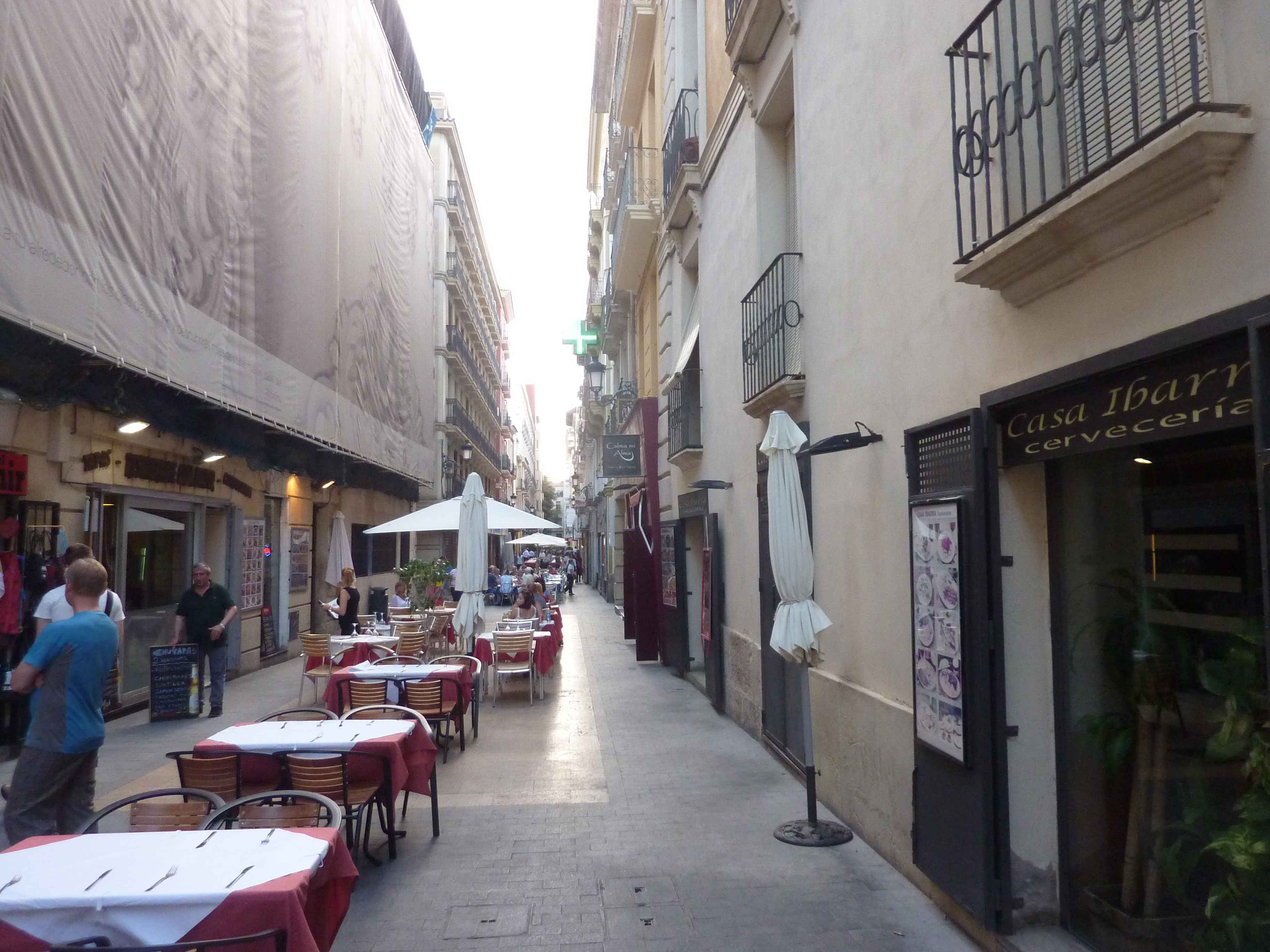 Ruelles Et Restaurants De Alicante en Images