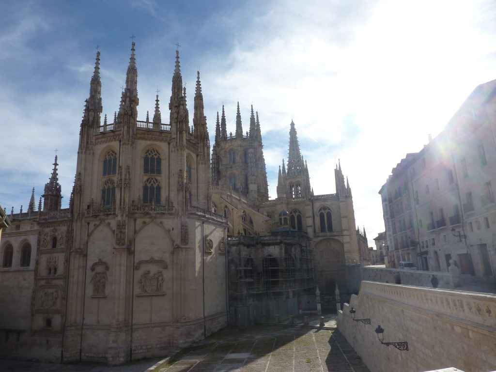 Burgos Cathedrale Arriere en Images
