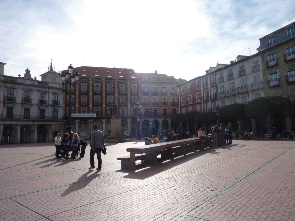 Plaza Mayor Burgos en Images