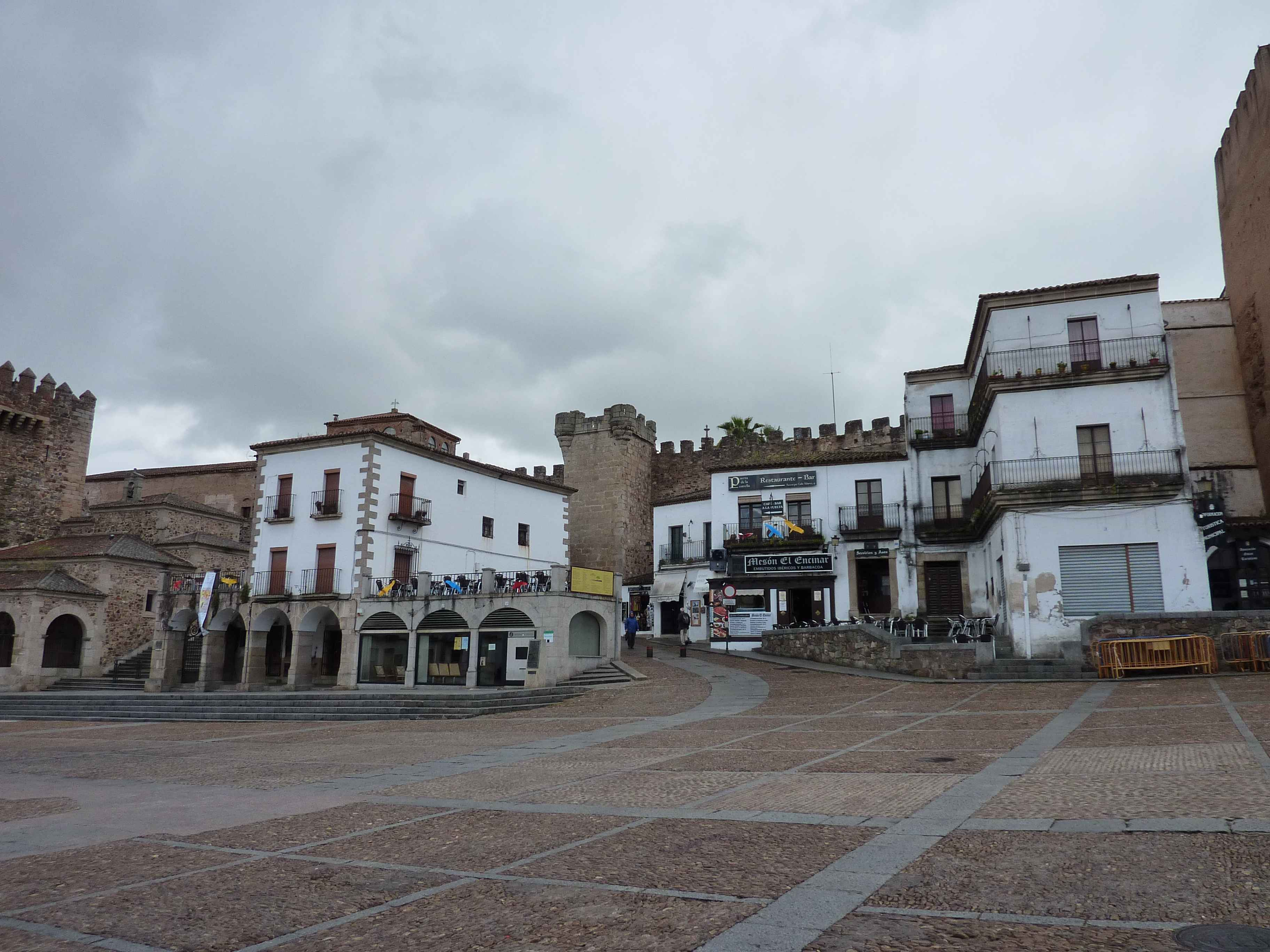 Plaza Major Caceres en Images