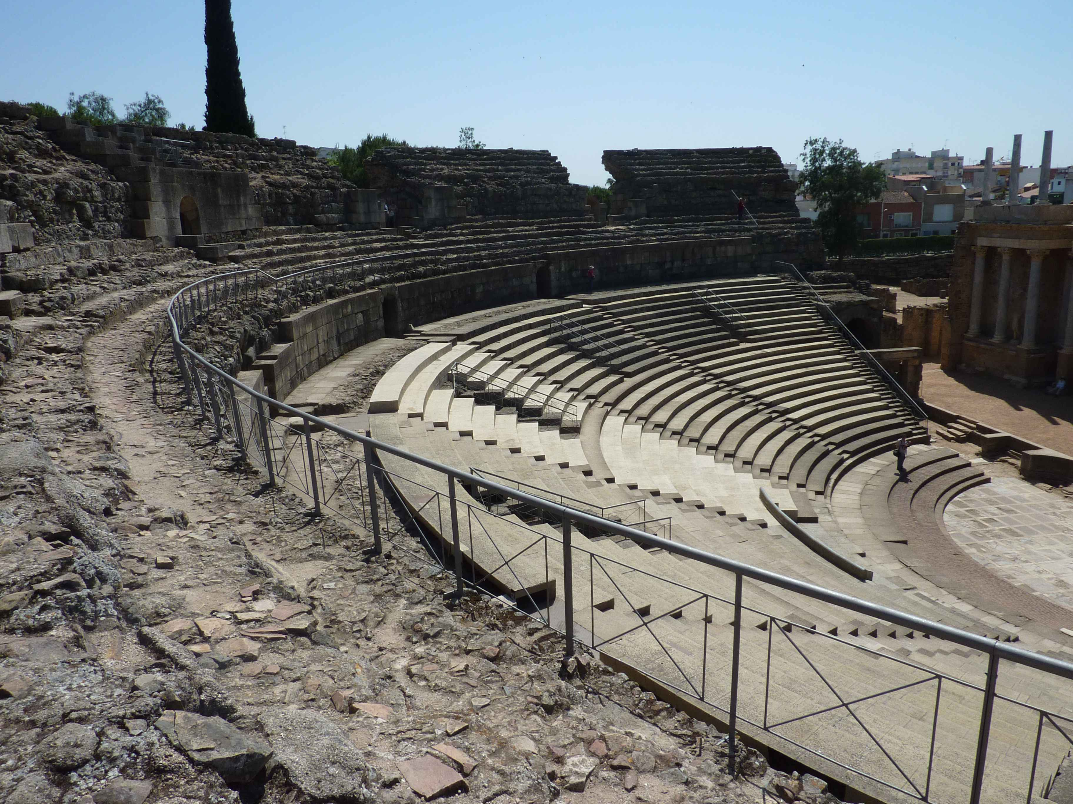 Tribune Amphitheatre Romaine Merida en Images