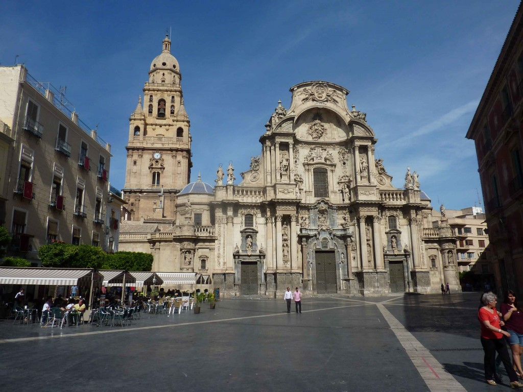 Vue Ensemble Murcia Cathedrale en Images