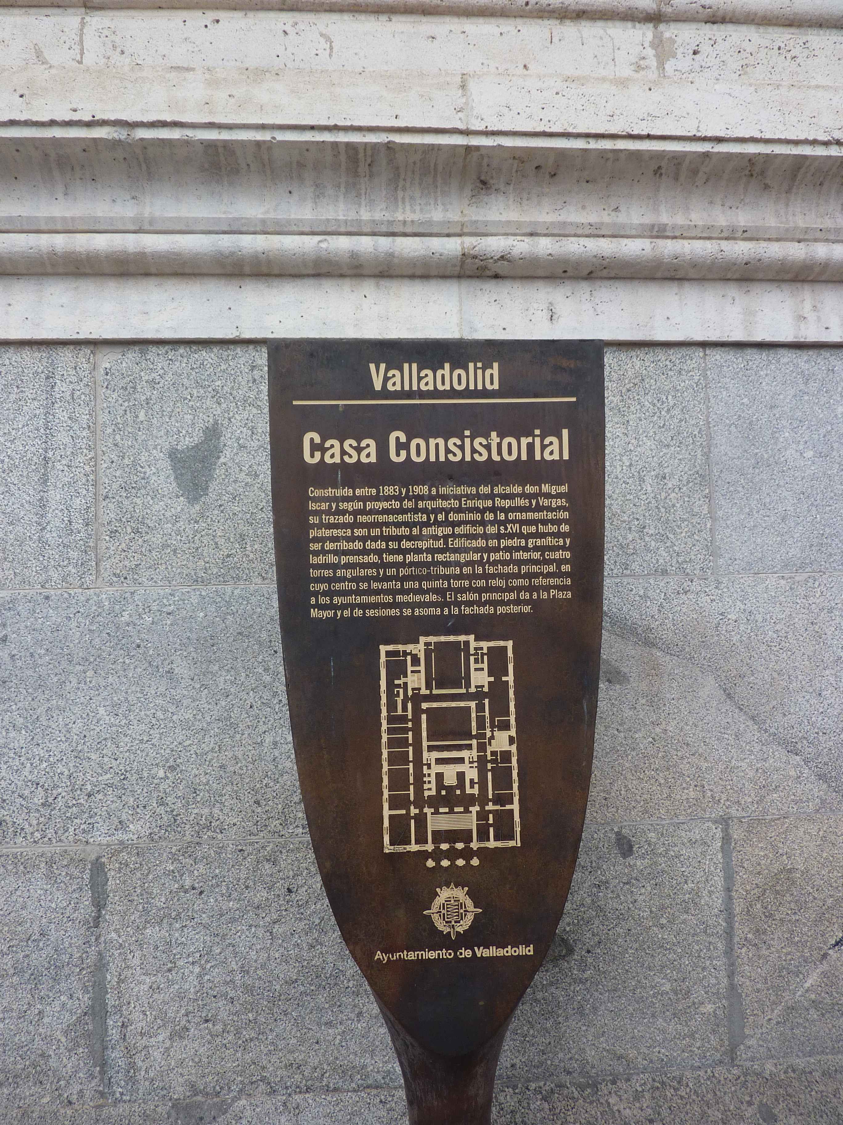 Casa Consistorial Sur La Plaza Mayor en Images
