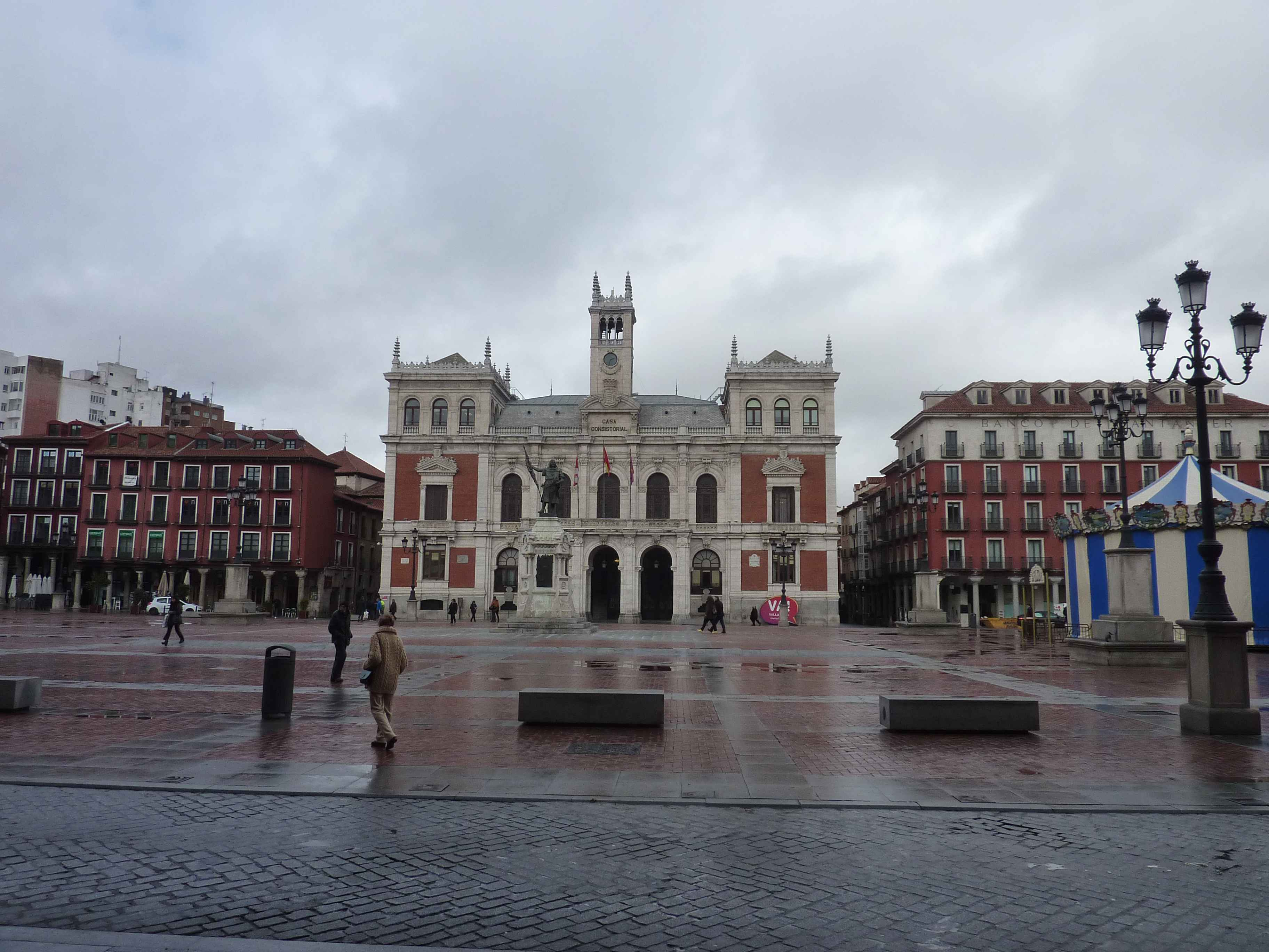 Plaza Mayor De Valladolid en Images