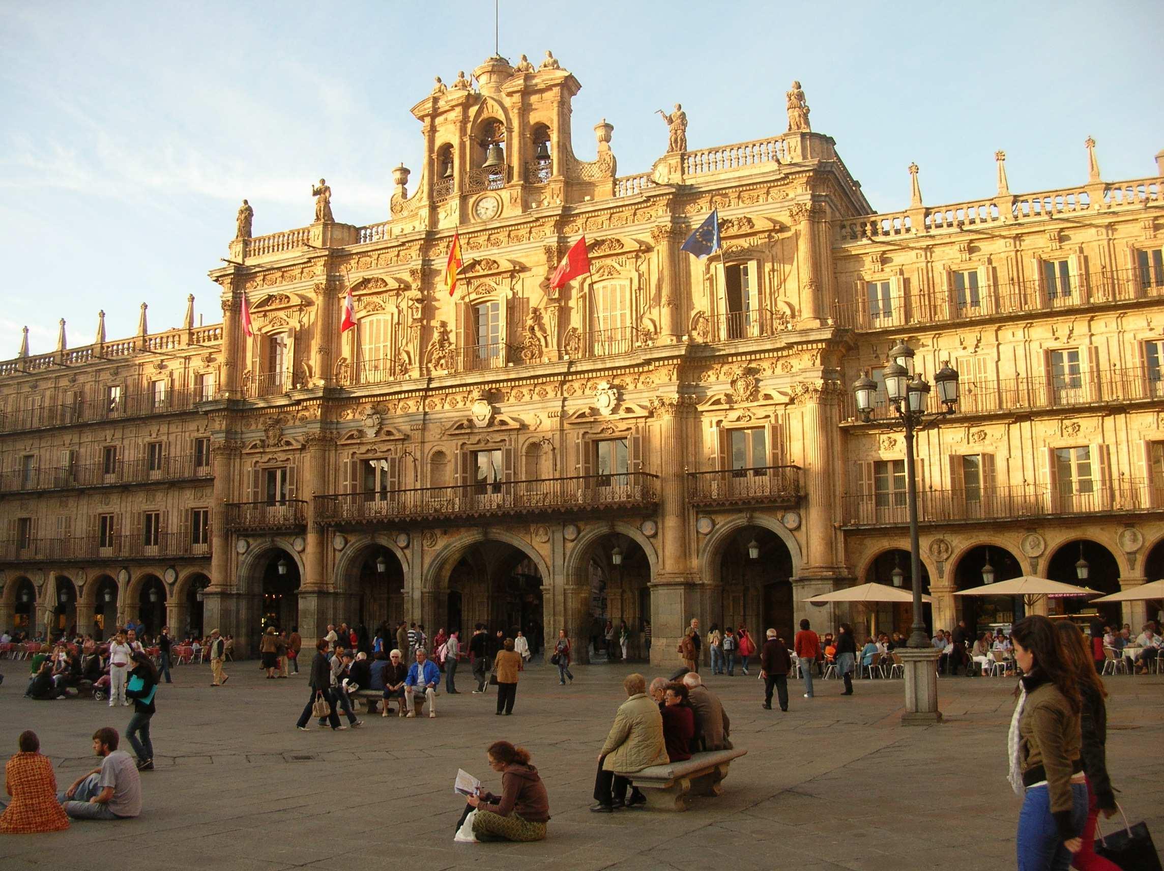 Le Centre Ville En Espagnol