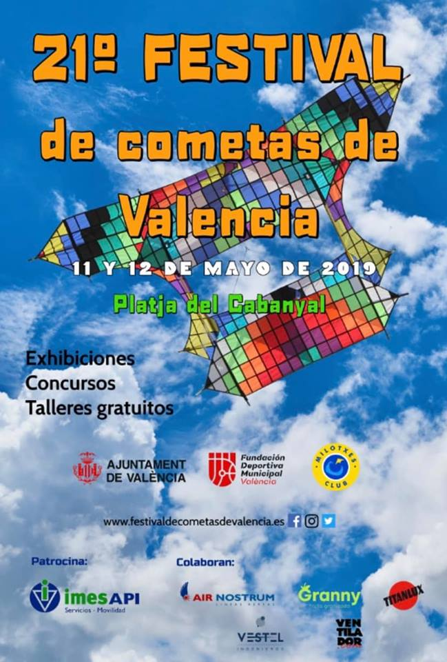 Best kite festival Valencia Spain 2019
