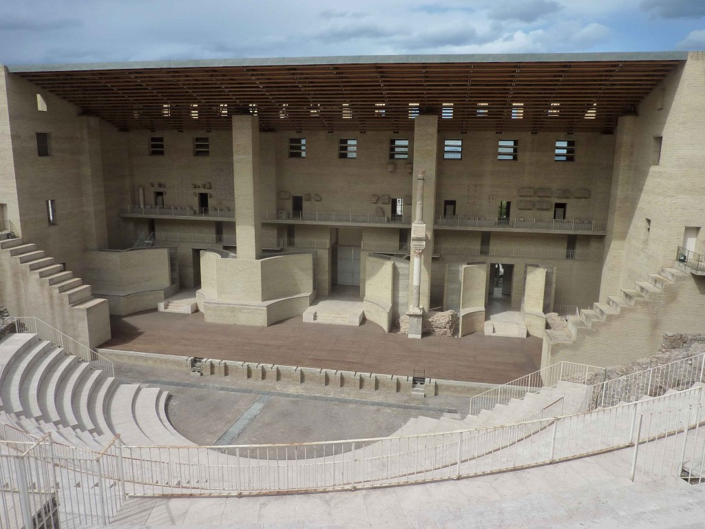 Theater roman in Sagunte